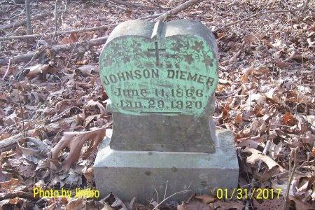 DIEMER, JOHNSON - Lincoln County, Tennessee | JOHNSON DIEMER - Tennessee Gravestone Photos