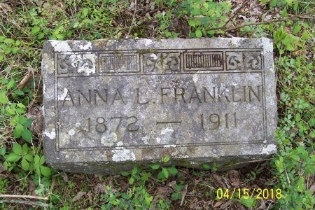 FRANKLIN, ANNA LOU - Lincoln County, Tennessee | ANNA LOU FRANKLIN - Tennessee Gravestone Photos