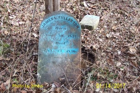 FULLERTON, JAMES L. - Lincoln County, Tennessee | JAMES L. FULLERTON - Tennessee Gravestone Photos