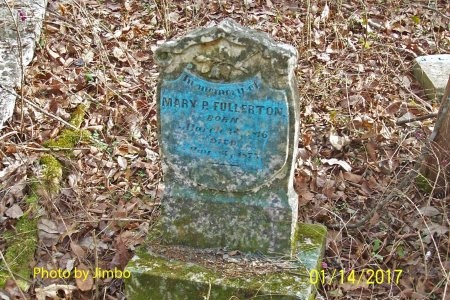 FULLERTON, MARY P. - Lincoln County, Tennessee | MARY P. FULLERTON - Tennessee Gravestone Photos