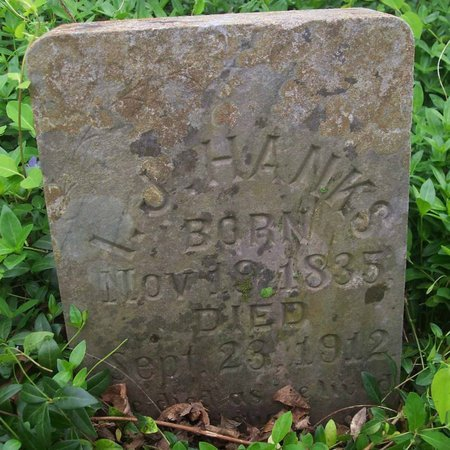 HANKS, ISAAC JENNINGS - Lincoln County, Tennessee | ISAAC JENNINGS HANKS - Tennessee Gravestone Photos