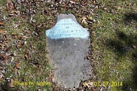 HESTER, J. (JOSEPH) - Lincoln County, Tennessee | J. (JOSEPH) HESTER - Tennessee Gravestone Photos