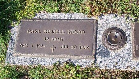 HOOD (VETERAN), CARL RUSSELL - Lincoln County, Tennessee   CARL RUSSELL HOOD (VETERAN) - Tennessee Gravestone Photos
