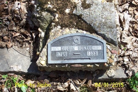 HUNTER, REUBIN - Lincoln County, Tennessee | REUBIN HUNTER - Tennessee Gravestone Photos