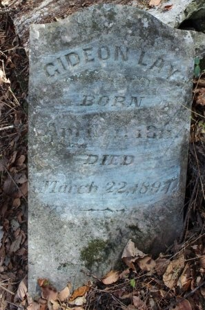 LAY, GIDEON - Lincoln County, Tennessee | GIDEON LAY - Tennessee Gravestone Photos