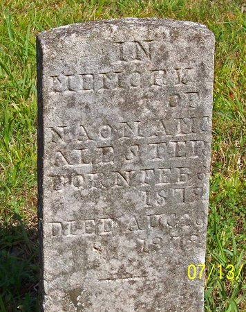 MCALISTER, NAOMI - Lincoln County, Tennessee | NAOMI MCALISTER - Tennessee Gravestone Photos