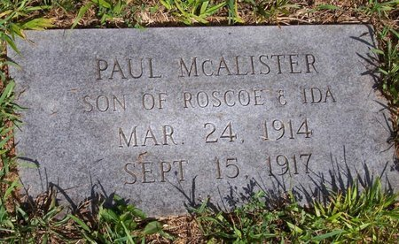 MCALISTER, PAUL - Lincoln County, Tennessee | PAUL MCALISTER - Tennessee Gravestone Photos