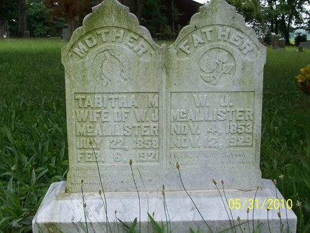 MCALISTER, WILLIAM JAMES - Lincoln County, Tennessee | WILLIAM JAMES MCALISTER - Tennessee Gravestone Photos
