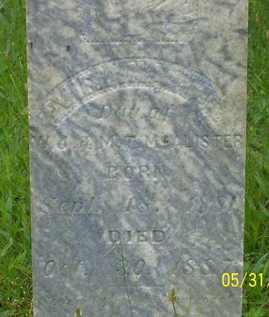 MCALISTER, VIRLINA MAY - Lincoln County, Tennessee | VIRLINA MAY MCALISTER - Tennessee Gravestone Photos