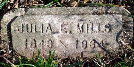 MILLS, JULIA E. - Lincoln County, Tennessee | JULIA E. MILLS - Tennessee Gravestone Photos