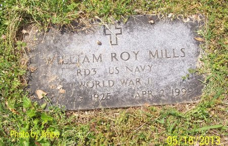 MILLS (VETERAN WWII), WILLIAM ROY - Lincoln County, Tennessee | WILLIAM ROY MILLS (VETERAN WWII) - Tennessee Gravestone Photos