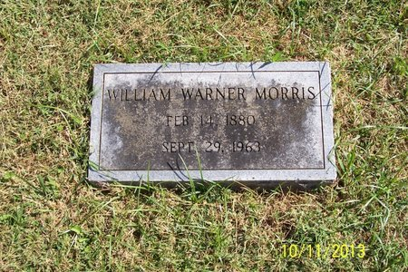 MORRIS, WILLIAM WARNER - Lincoln County, Tennessee | WILLIAM WARNER MORRIS - Tennessee Gravestone Photos