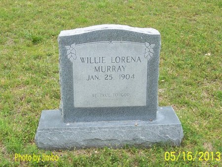 MURRAY, WILLIE LORENA - Lincoln County, Tennessee | WILLIE LORENA MURRAY - Tennessee Gravestone Photos