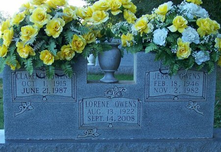 OWENS, CLARENCE - Lincoln County, Tennessee | CLARENCE OWENS - Tennessee Gravestone Photos