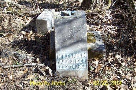 PAMPLIN, M. B. - Lincoln County, Tennessee   M. B. PAMPLIN - Tennessee Gravestone Photos