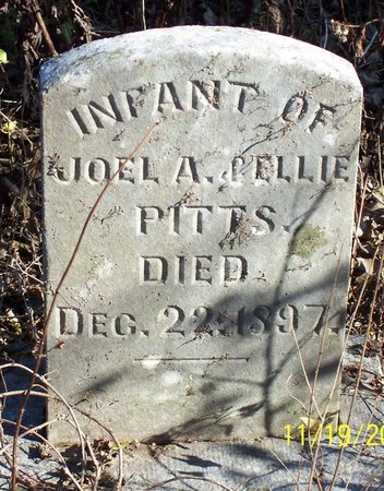 PITTS, INFANT - Lincoln County, Tennessee | INFANT PITTS - Tennessee Gravestone Photos