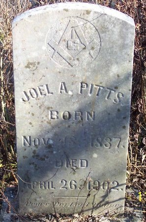 PITTS, JOEL A. - Lincoln County, Tennessee | JOEL A. PITTS - Tennessee Gravestone Photos