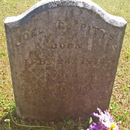 PITTS, JOEL GEORGE - Lincoln County, Tennessee | JOEL GEORGE PITTS - Tennessee Gravestone Photos