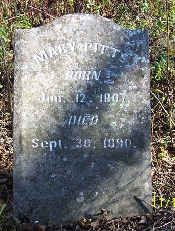 PITTS, MARY - Lincoln County, Tennessee | MARY PITTS - Tennessee Gravestone Photos