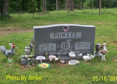 POWELL, ANNIE D. - Lincoln County, Tennessee | ANNIE D. POWELL - Tennessee Gravestone Photos
