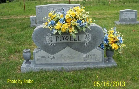 POWELL, BILLY GERALD - Lincoln County, Tennessee | BILLY GERALD POWELL - Tennessee Gravestone Photos