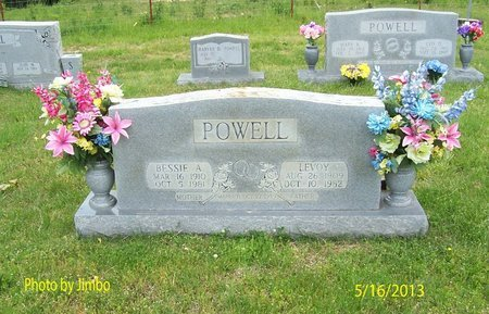 POWELL, LEVOY - Lincoln County, Tennessee | LEVOY POWELL - Tennessee Gravestone Photos