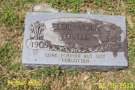 POWELL, ELSIE VIOLA - Lincoln County, Tennessee | ELSIE VIOLA POWELL - Tennessee Gravestone Photos