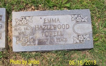 POWELL, EMMA - Lincoln County, Tennessee | EMMA POWELL - Tennessee Gravestone Photos