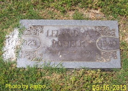 POWELL, LELAND A. - Lincoln County, Tennessee | LELAND A. POWELL - Tennessee Gravestone Photos