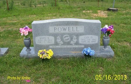 POWELL, COY D. - Lincoln County, Tennessee | COY D. POWELL - Tennessee Gravestone Photos