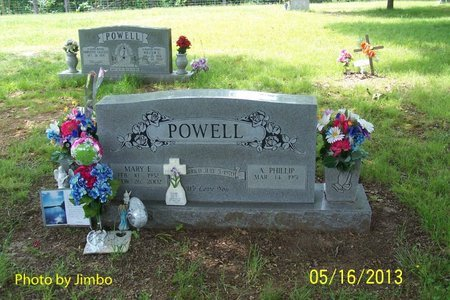 POWELL, MARY E. - Lincoln County, Tennessee | MARY E. POWELL - Tennessee Gravestone Photos