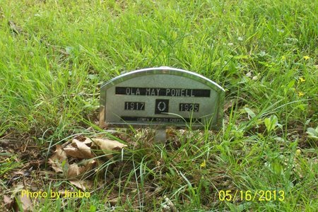 POWELL, OLA MAY - Lincoln County, Tennessee | OLA MAY POWELL - Tennessee Gravestone Photos