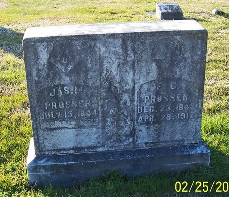 PROSSER, JAMES M.. - Lincoln County, Tennessee | JAMES M.. PROSSER - Tennessee Gravestone Photos