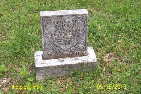 PROSSER, LEONARD - Lincoln County, Tennessee | LEONARD PROSSER - Tennessee Gravestone Photos