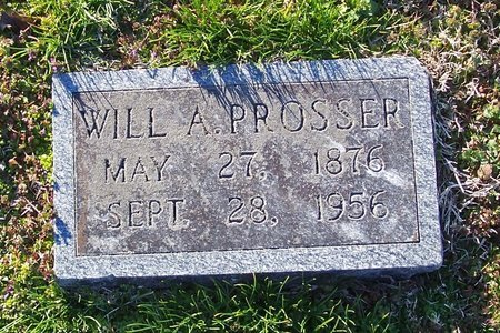 PROSSER, WILL A. - Lincoln County, Tennessee | WILL A. PROSSER - Tennessee Gravestone Photos