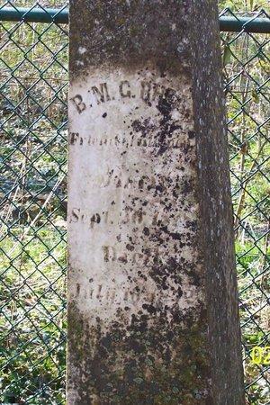 RHEA, BRICE MARTIN GARNER (CLOSE UP) - Lincoln County, Tennessee | BRICE MARTIN GARNER (CLOSE UP) RHEA - Tennessee Gravestone Photos