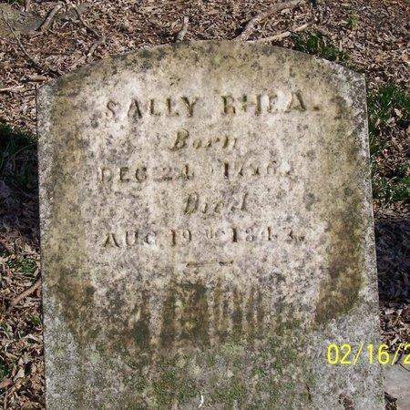 "RHEA, SARAH ""SALLY"" - Lincoln County, Tennessee | SARAH ""SALLY"" RHEA - Tennessee Gravestone Photos"