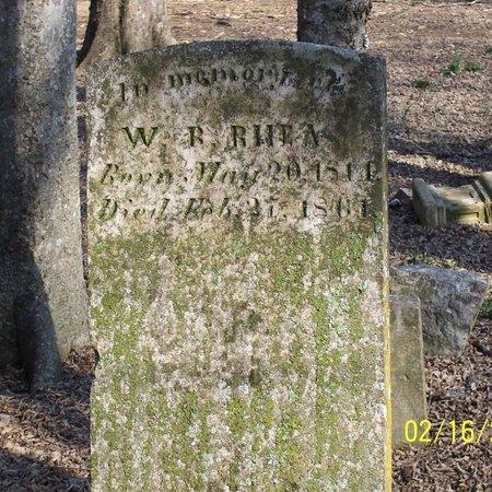 RHEA, WILLIAM BRYSON - Lincoln County, Tennessee | WILLIAM BRYSON RHEA - Tennessee Gravestone Photos