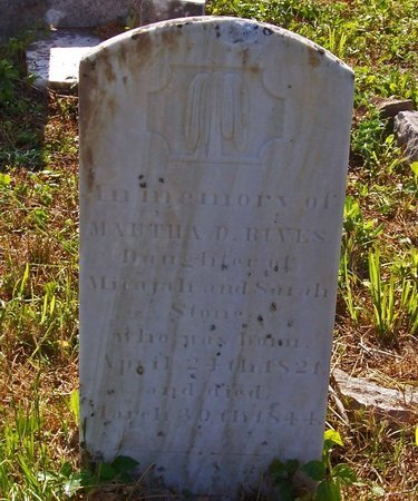 RIVES, MARTHA - Lincoln County, Tennessee | MARTHA RIVES - Tennessee Gravestone Photos
