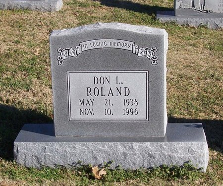 ROLAND, DON L. - Lincoln County, Tennessee   DON L. ROLAND - Tennessee Gravestone Photos