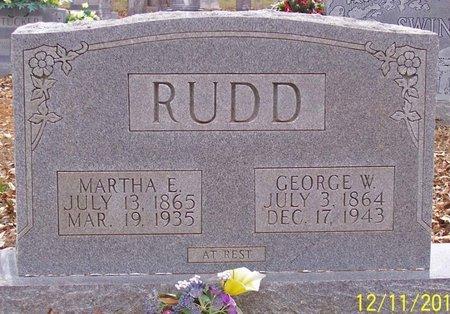 RUDD, GEORGE WASHINGTON - Lincoln County, Tennessee   GEORGE WASHINGTON RUDD - Tennessee Gravestone Photos