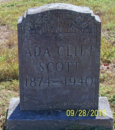 CLIFT SCOTT, ADA - Lincoln County, Tennessee | ADA CLIFT SCOTT - Tennessee Gravestone Photos
