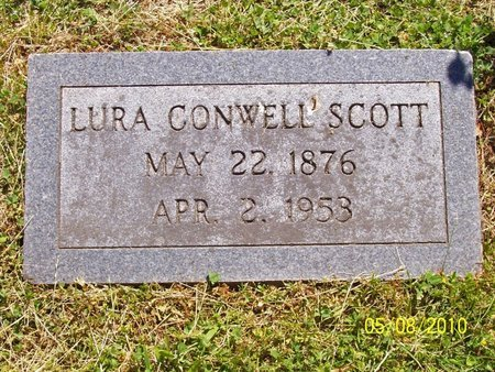 SCOTT, LURA - Lincoln County, Tennessee | LURA SCOTT - Tennessee Gravestone Photos