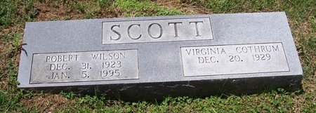 SCOTT, ROBERT WILSON - Lincoln County, Tennessee | ROBERT WILSON SCOTT - Tennessee Gravestone Photos