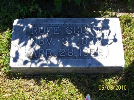 SCOTT, RUFE - Lincoln County, Tennessee | RUFE SCOTT - Tennessee Gravestone Photos
