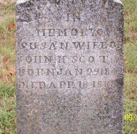 SCOTT, SUSAN - Lincoln County, Tennessee   SUSAN SCOTT - Tennessee Gravestone Photos