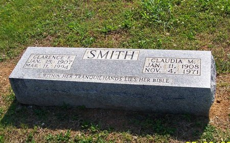 SMITH, CLARENCE F. - Lincoln County, Tennessee | CLARENCE F. SMITH - Tennessee Gravestone Photos
