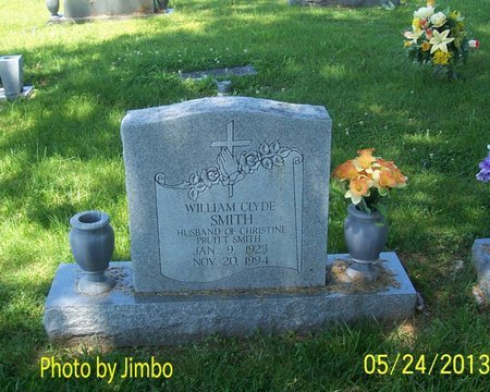 SMITH, WILLIAM CLYDE - Lincoln County, Tennessee | WILLIAM CLYDE SMITH - Tennessee Gravestone Photos