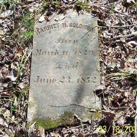 SOLOMON, HARRIET H. - Lincoln County, Tennessee | HARRIET H. SOLOMON - Tennessee Gravestone Photos