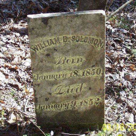 SOLOMON, WILLIAM B. - Lincoln County, Tennessee | WILLIAM B. SOLOMON - Tennessee Gravestone Photos